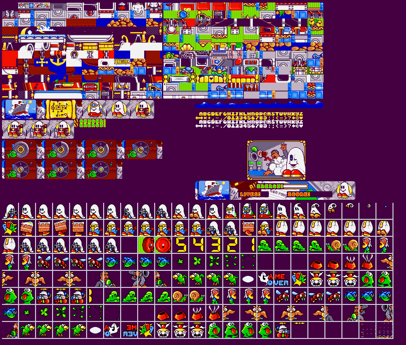 Amiga sprites